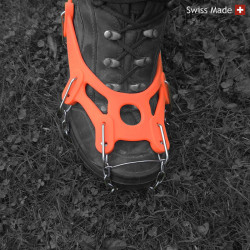 RocAlpes RG300 Crampons for walking shoes with 14 teeth