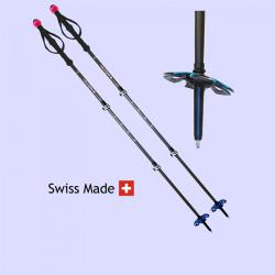 Spezifische Stöcke für Skitouren