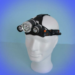 Headlamp 540 lumens SDC (2250 lm) with 3 LEDs
