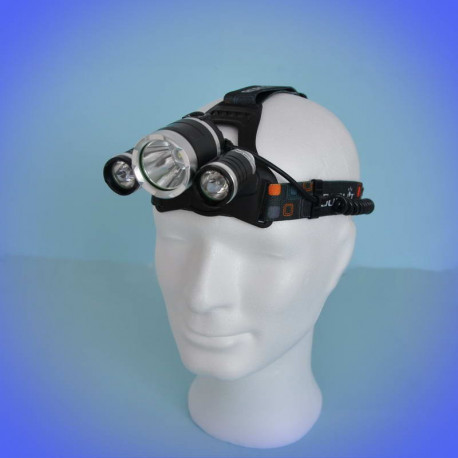 Headlamp TCS 138 (2250 lumens) with 3 LEDs
