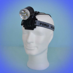 Headlamp 720 lumens (3600 lm) with 3 LEDs