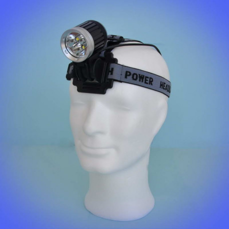 Headlamp SDC 487 (3000 lumens) with 3 LEDs