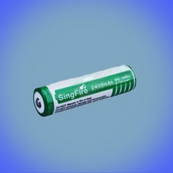 Li-ion 2200mAh battery 18650 Singfire