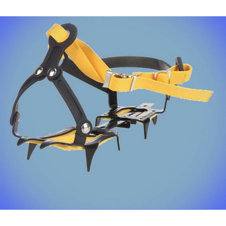 Ice crampons 10 teeth for hiking shoes