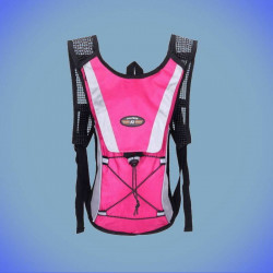 Zaino 5L con sistema di idratazione 2L per la corsa, il ciclismo, unisex