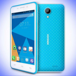 "Smartphone DOOGEE LEO DG280 4.5"" Androïd 5.0 Dual SIM 1GB RAM 8GB ROM Wifi 3G GPRS"