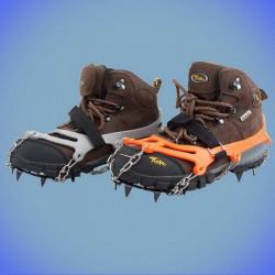 Crampons XL pour chaussures de marche à 12 pics taille 43-47