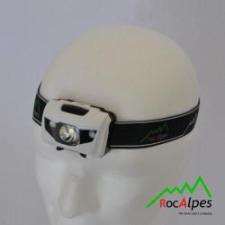 RocAlpes RV105 Lampe Frontale 80 lumens avec led rouge