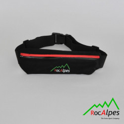 RocAlpes Lightweight banana belt for running, fitness, travel, unisex