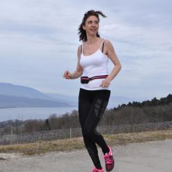 RocAlpes Cintura di banana leggera per la corsa, fitness, viaggi, unisex
