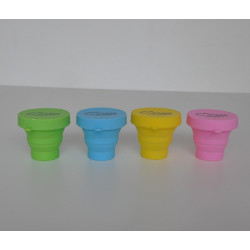 4x RocAlpes RC200 Foldable silicone cup Lot multicolor