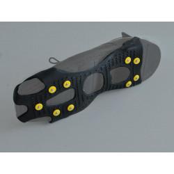 RocAlpes RG150 Steigeisen für Schuhe mit 10 Spike-Niten aus Stahl
