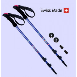 RocAlpes RT406 Lady Telescopic poles 125cm Alu 7075