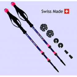 RocAlpes RT421 Lady Telescopic poles 135cm Alu 7075
