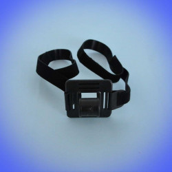 Support headband for headlamps with velcro