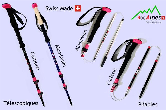 """Nouvelle gamme de bâtons """"Lady"""" Swiss Made"""