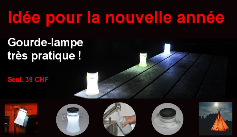 RocAlpes Multi-sports RC100 lampe-gourde