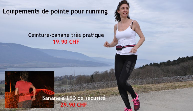 Roc Run Materiels pour running